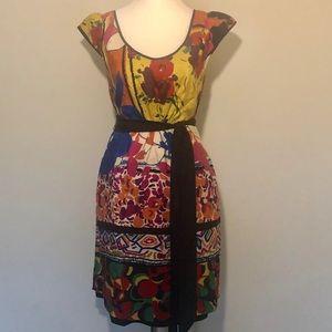 Anthropologie Moulinette Soeur Silk Dress